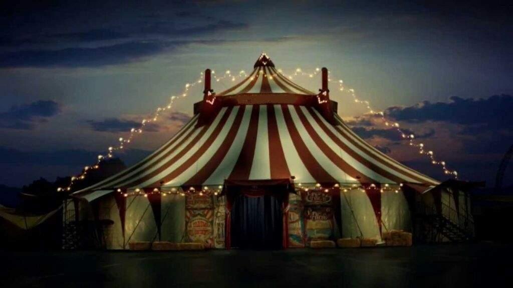 circo assustador