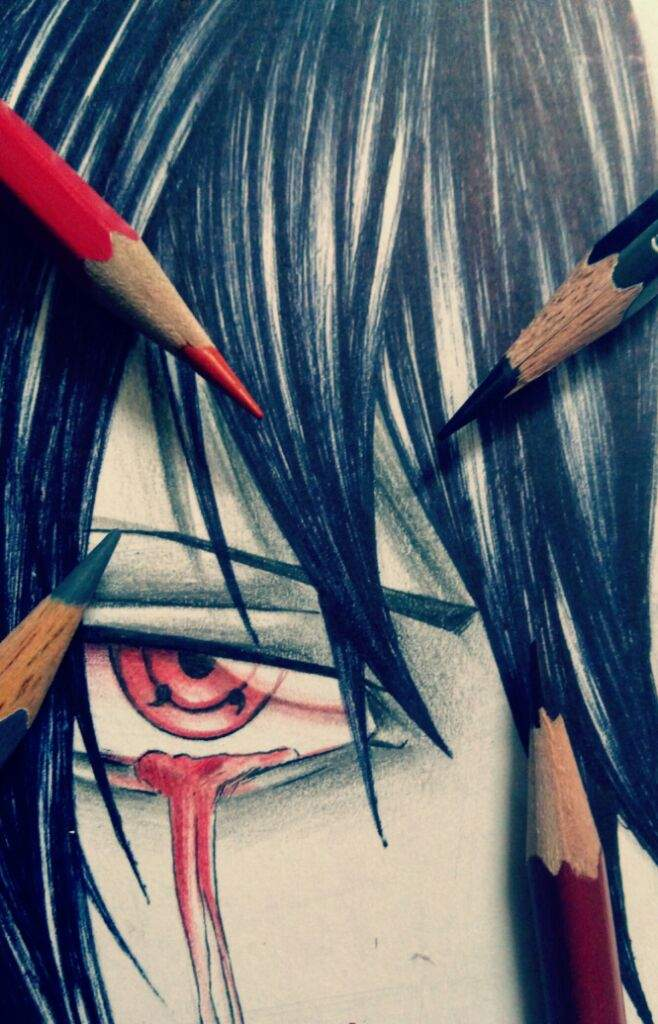 Sasuke Sharingan Eye Drawing Amino