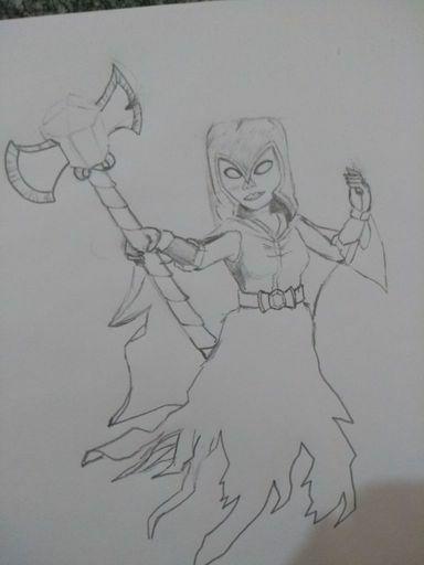 Bruxa Sombria Fanart Clash Royale Amino Oficial C Amino