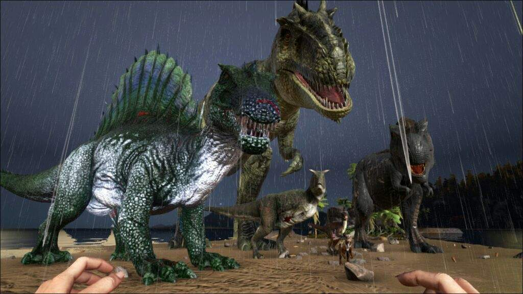 Truly' The best gathering dino's | Ark Survival Evolved Amino