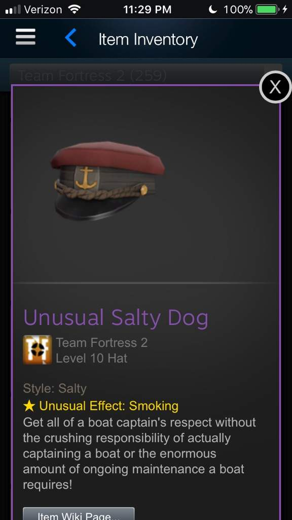 7452722d887 Selling Unusual Salty Dog