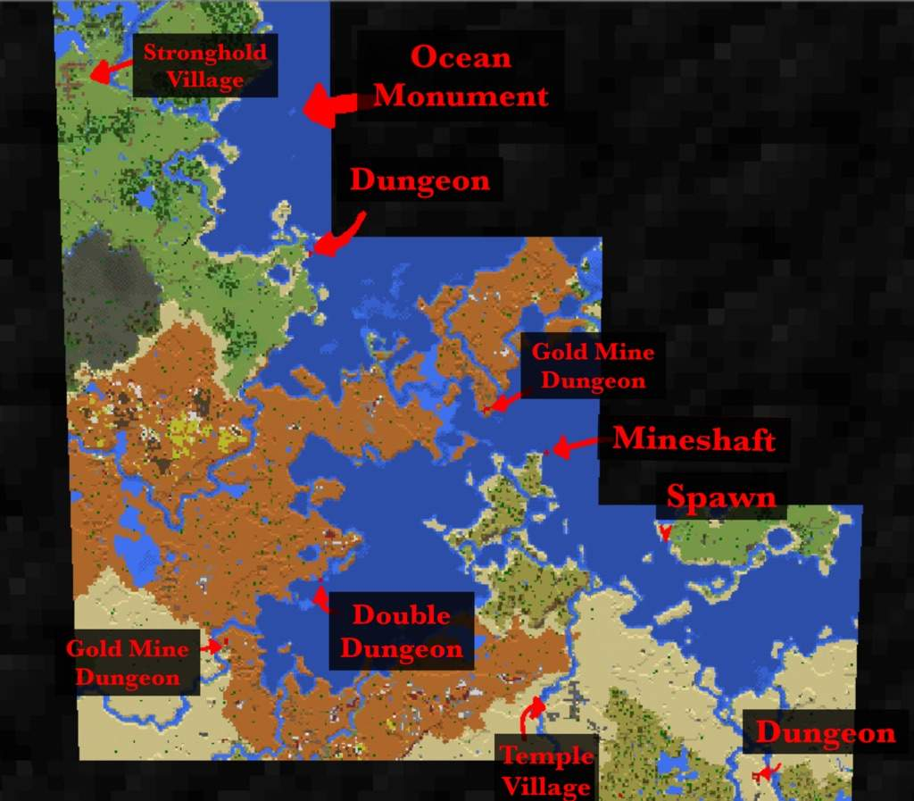 v1 2 Seed: snowhasrim | Minecraft Amino