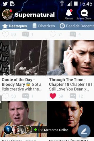 Through The Time - Chapter 18 | Supernatural Amino