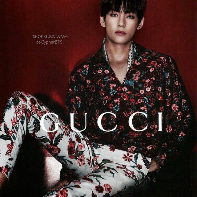 GUCCI Model, Kim Taehyung