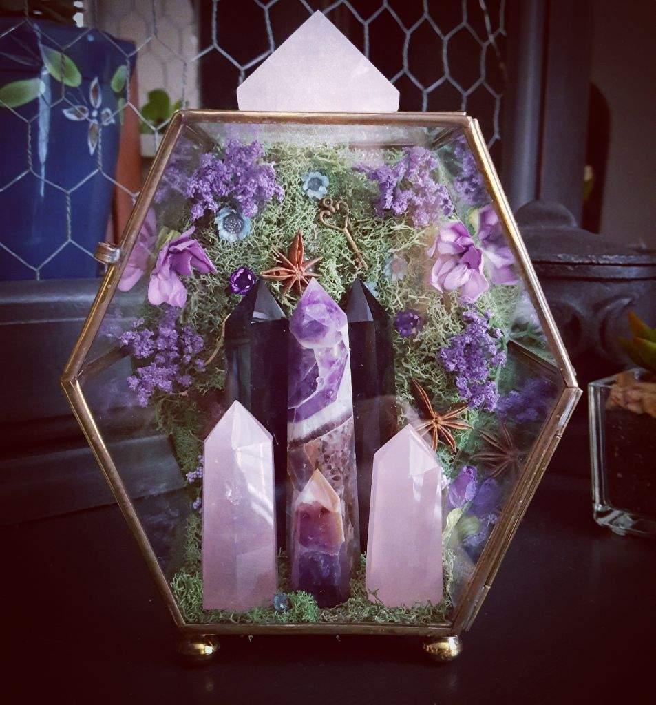 new crystal garden pagans witches amino - Crystal Garden