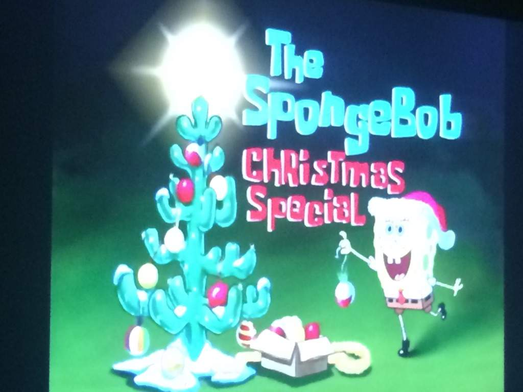 so im watchin the spongebob christmas special since its in the lead in my poll so yea