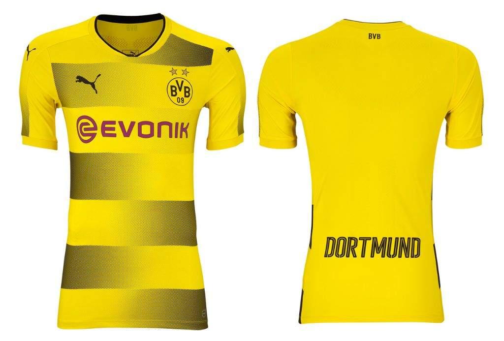 Uniforme do Borussia Dortmund 17 18  345c77646a0cd