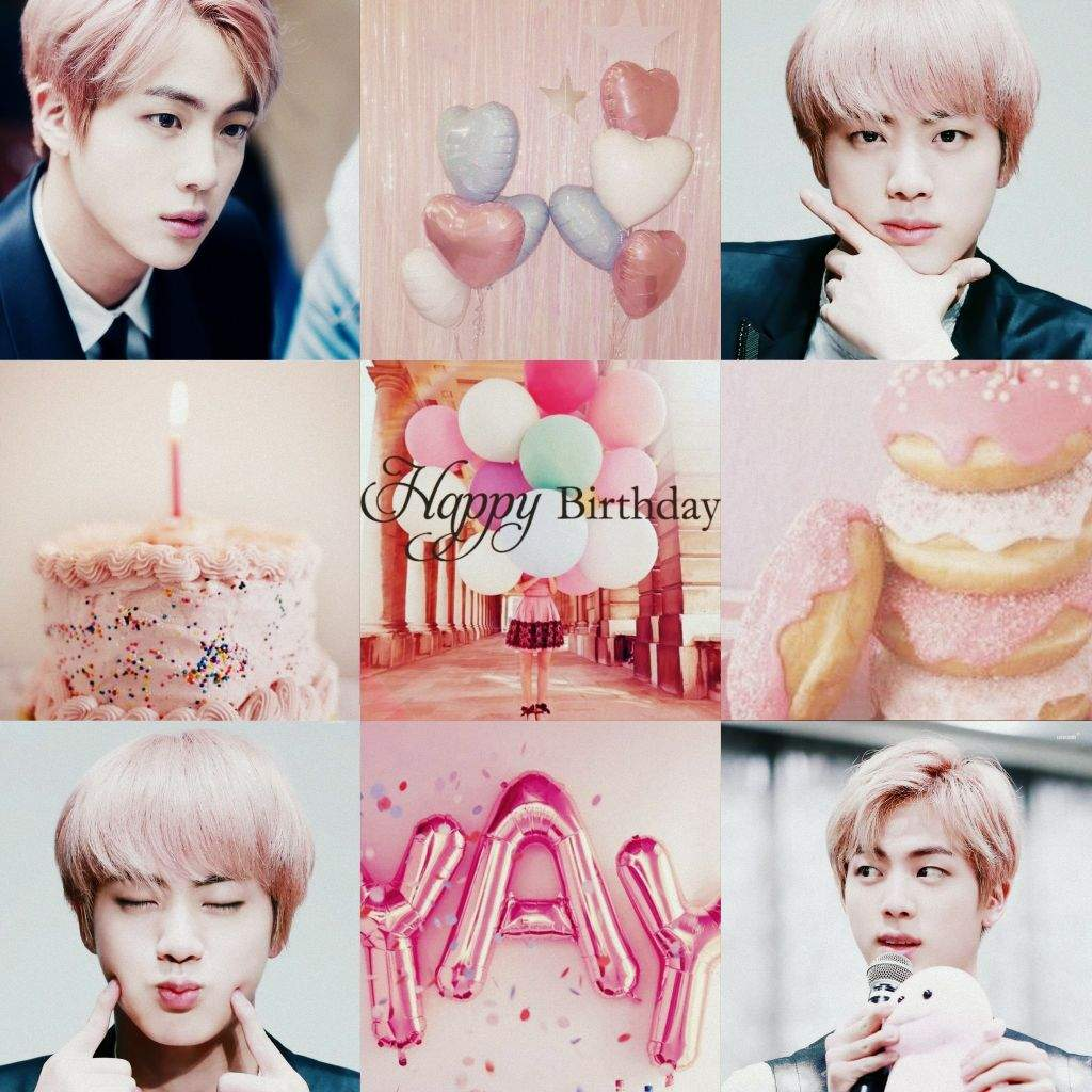 Happy Birthday Kim Seokjin Park Jimin Amino