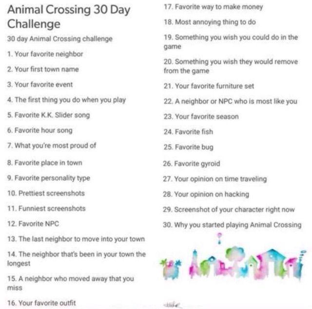 Day One Animal Crossing Amino