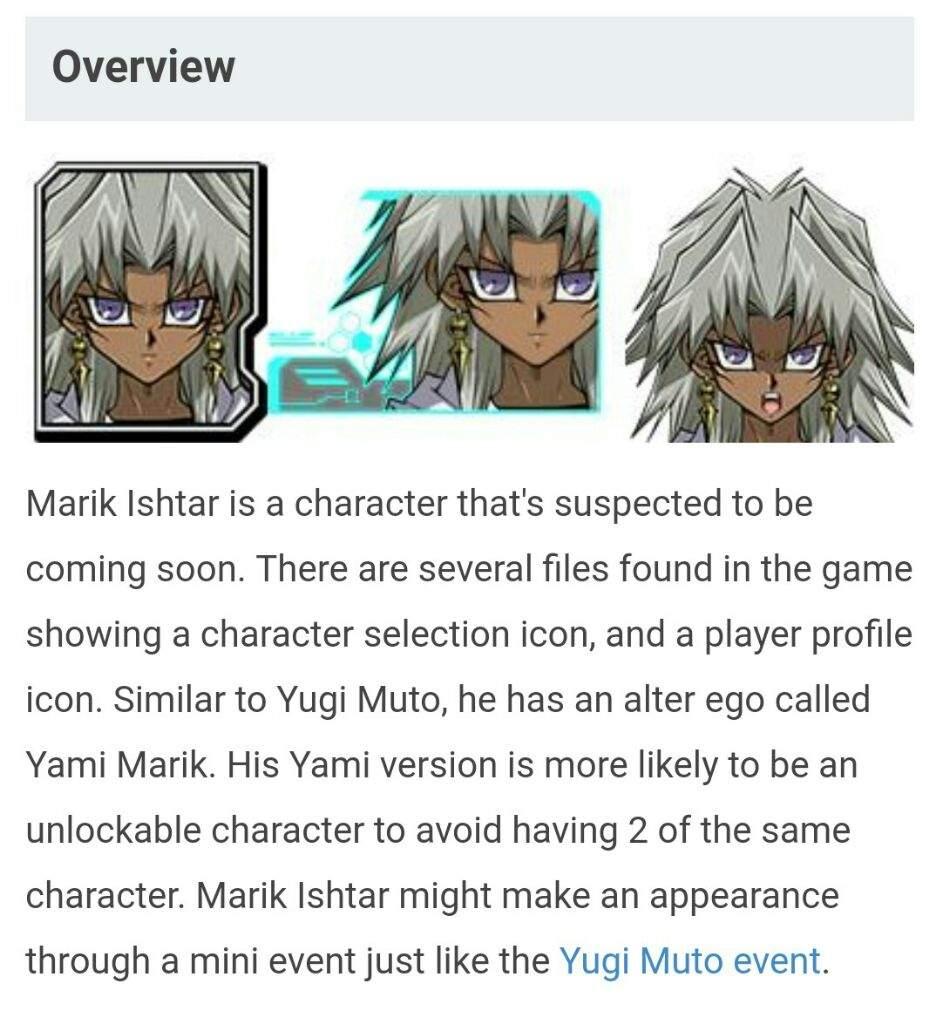 Duel Links Character Leak!   Yu-Gi-Oh! Duel Links! Amino