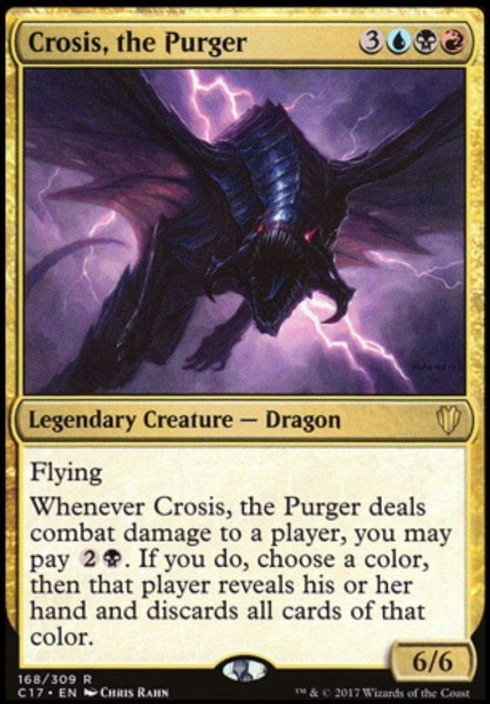 EDH Deck Tech - Crosis, the Purging Specter | MTG Amino