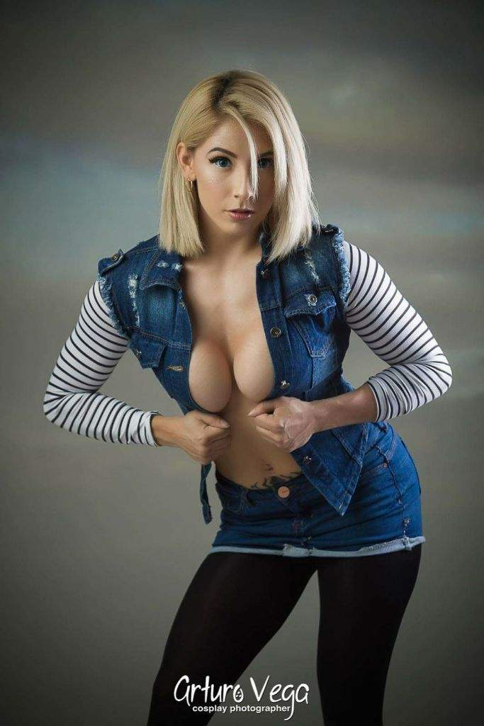 Dragon ball z android 18 costume