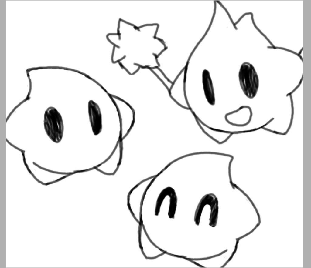 Vistoso Mario Galaxy Para Colorear Ornamento - Enmarcado Para ...
