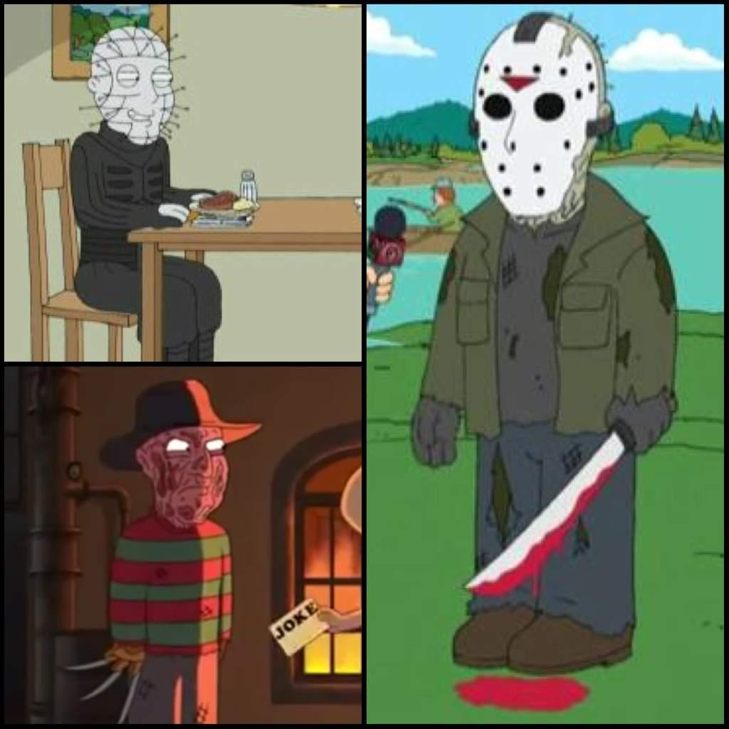 family guy references horror movies | horror amino