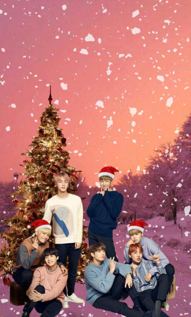 Bts Christmas Wallpaper Army S Amino