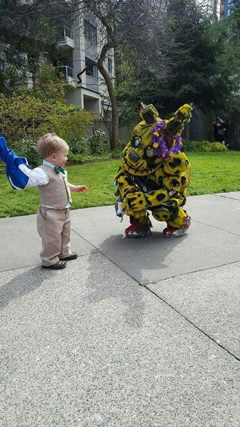 springtrap meets cute child five nights at freddy s amino