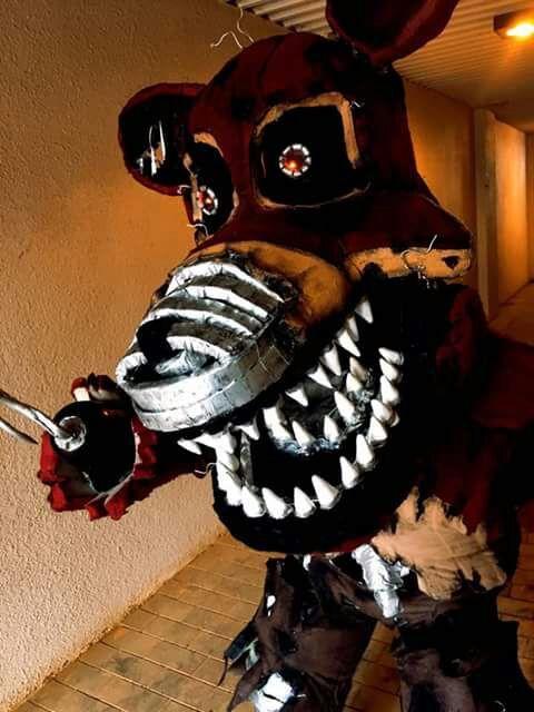 Nightmare Foxy Cosplay Five Nights At Freddy S Amino