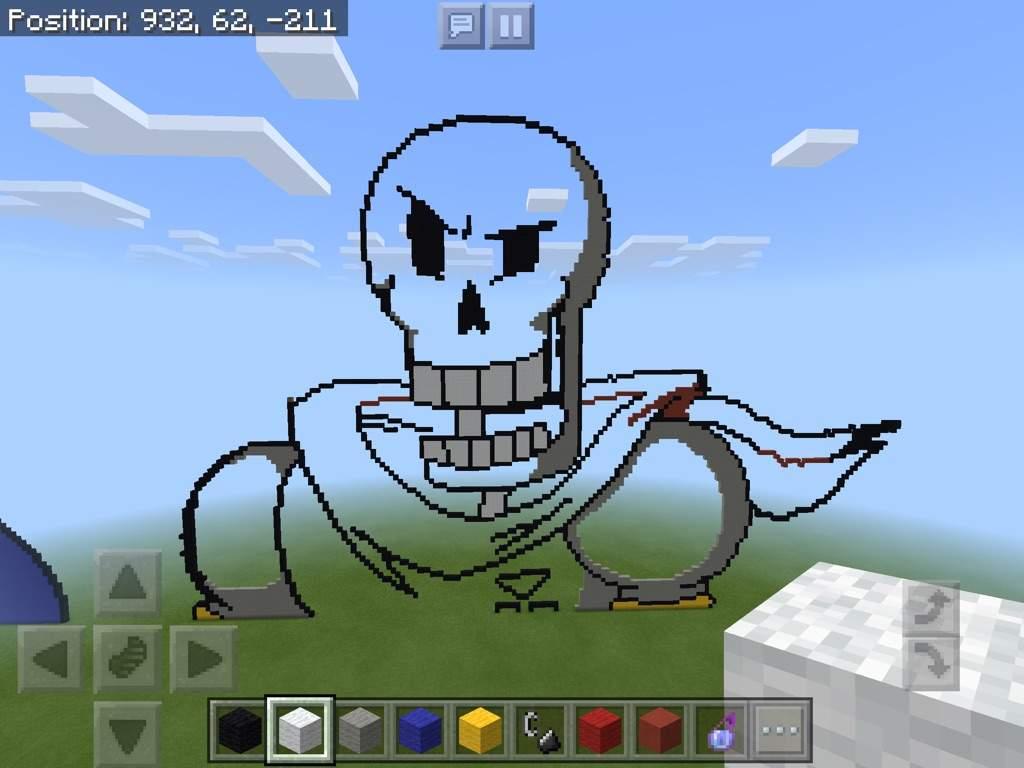 Papyrus Minecraft Pixel Art Minecraft Amino