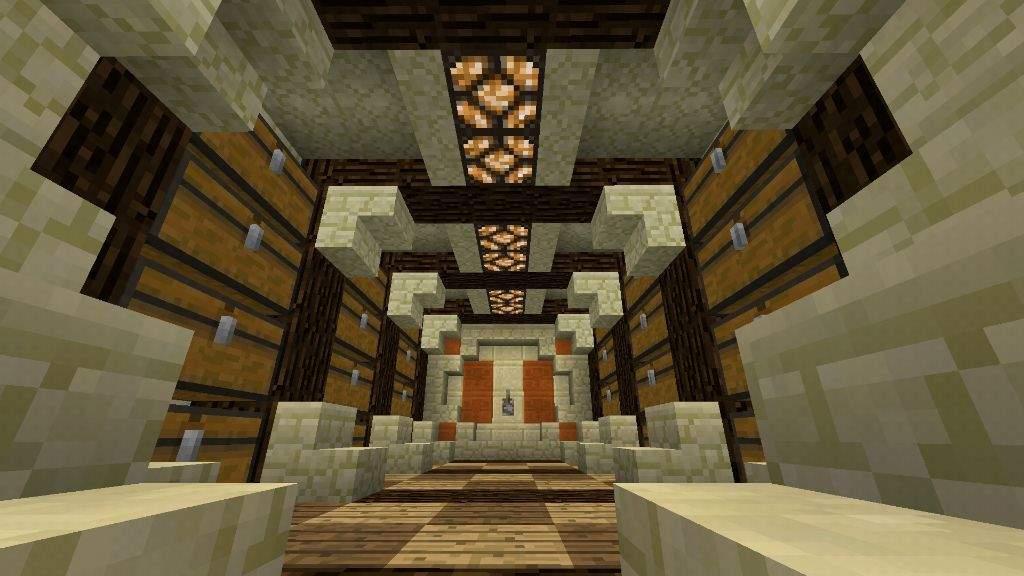 Chest Room Design Minecraft Amino