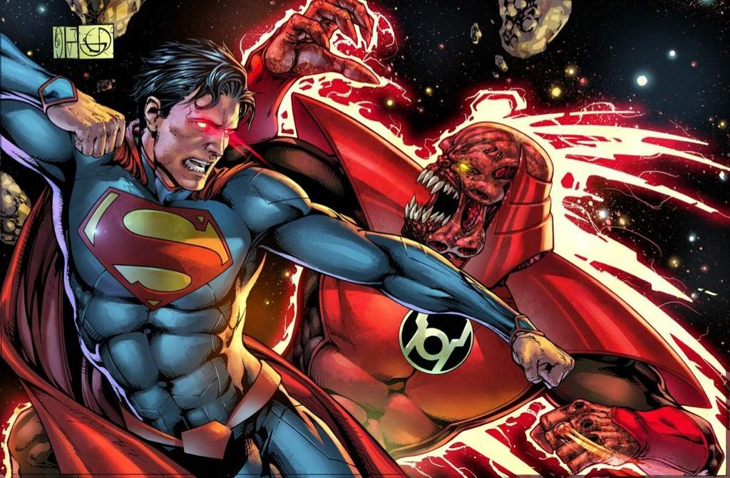 poetas Gigante poetas  Superman vs Atrocitus: Battle Analysis | Comics Amino