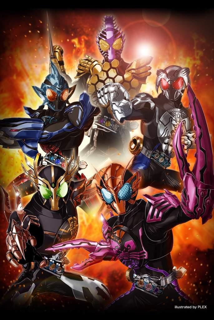 Kamen Rider OOO New Combo Forms   Kamen Rider Amino Amino