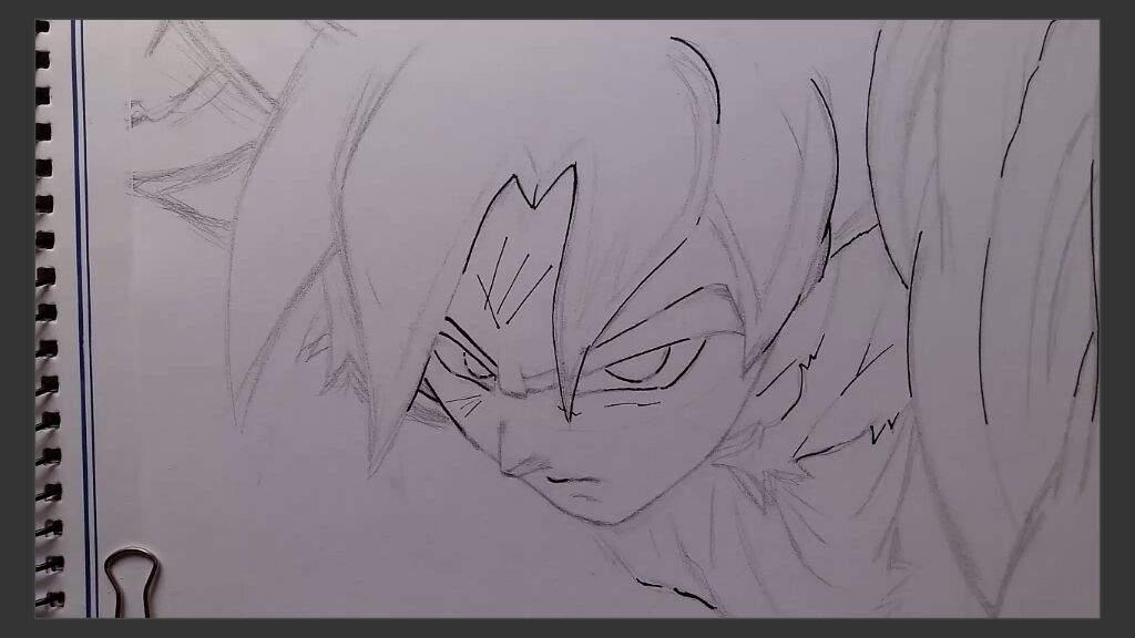 Como Pintar A Goku Ultra Instinto 12 Colores Dibujarte Amino