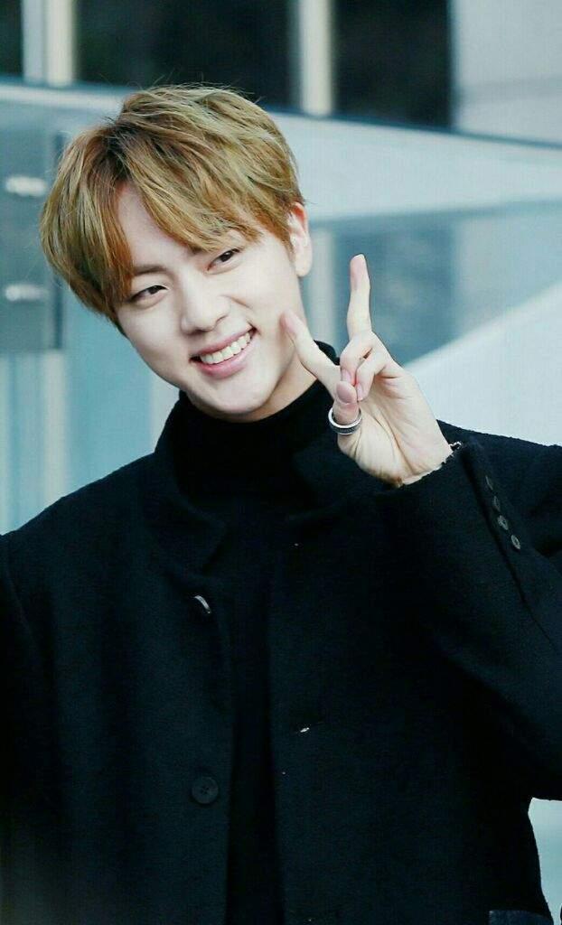 Kim Seokjin Jin Worldwide Handsome Army S Amino