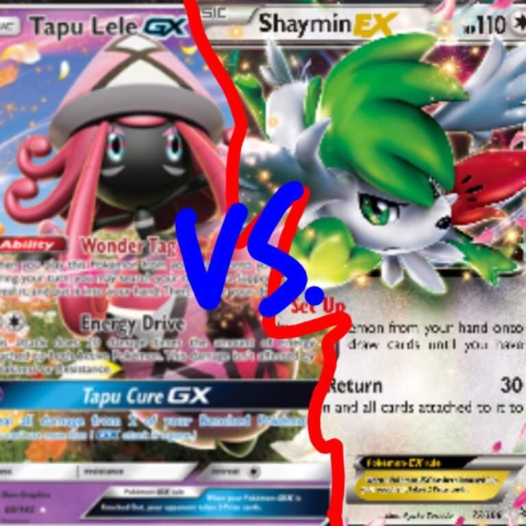 Shaymin Ex Vs Tapu Lele Gx Pokémon Trading Card Game Amino