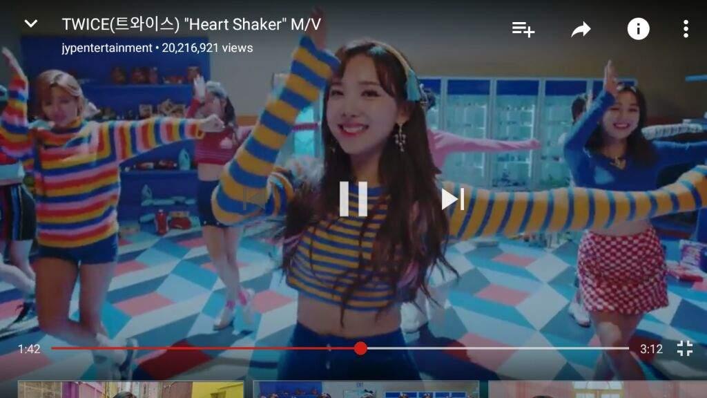 HEART SHAKER REACH 20MILLION views on YouTube!  dbe3e7243
