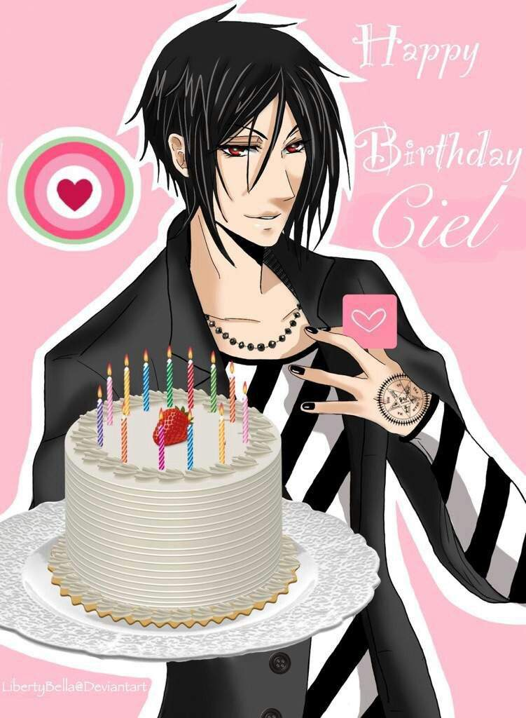 День рождения аниме персонажей