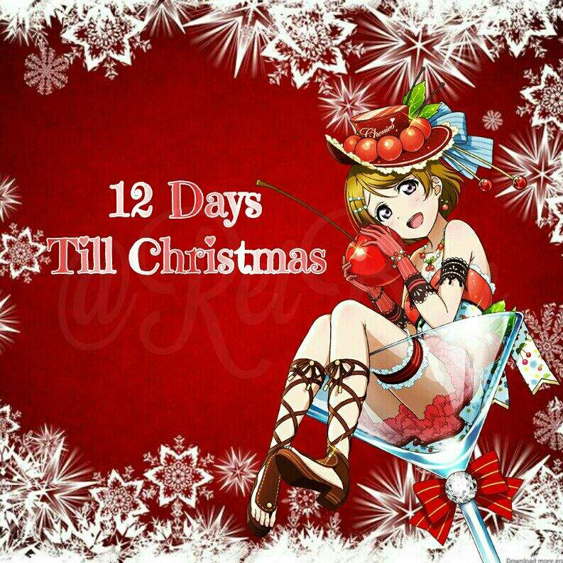 there are only 12 days left of course there are times zones so i am doing this on my time which is pacific time do tell me do you like candy canes - 12 Days Till Christmas
