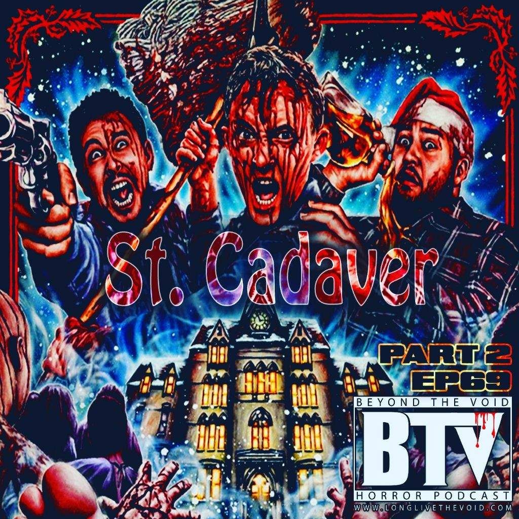 this week for our flesh potatoes we continue the holiday horror fun with 2 movies saint 2010 and a cadaver christmas 2011 - A Cadaver Christmas