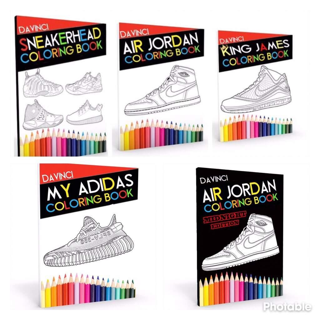 ef55354308b0b Full line of sneaker coloring books on amazon | Sneakerheads Amino