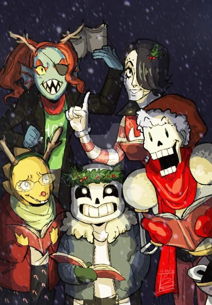 Undertale Christmas.The 12 Days Of Undertale Christmas Undertale Amino