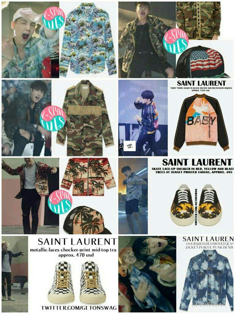 cde741807bdc0e the reason why BTS always wear Saint Laurent