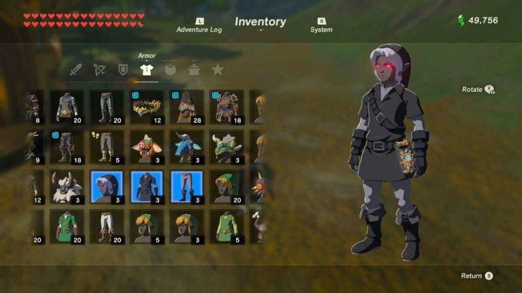My Top 5 armor sets in BotW | Zelda Amino