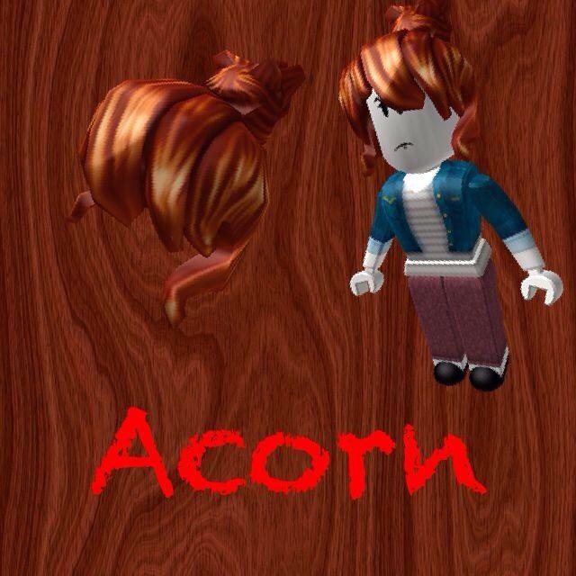Roblox Playerss Side Names Judged By Their Hair Roblox Amino - acorn hair girl roblox