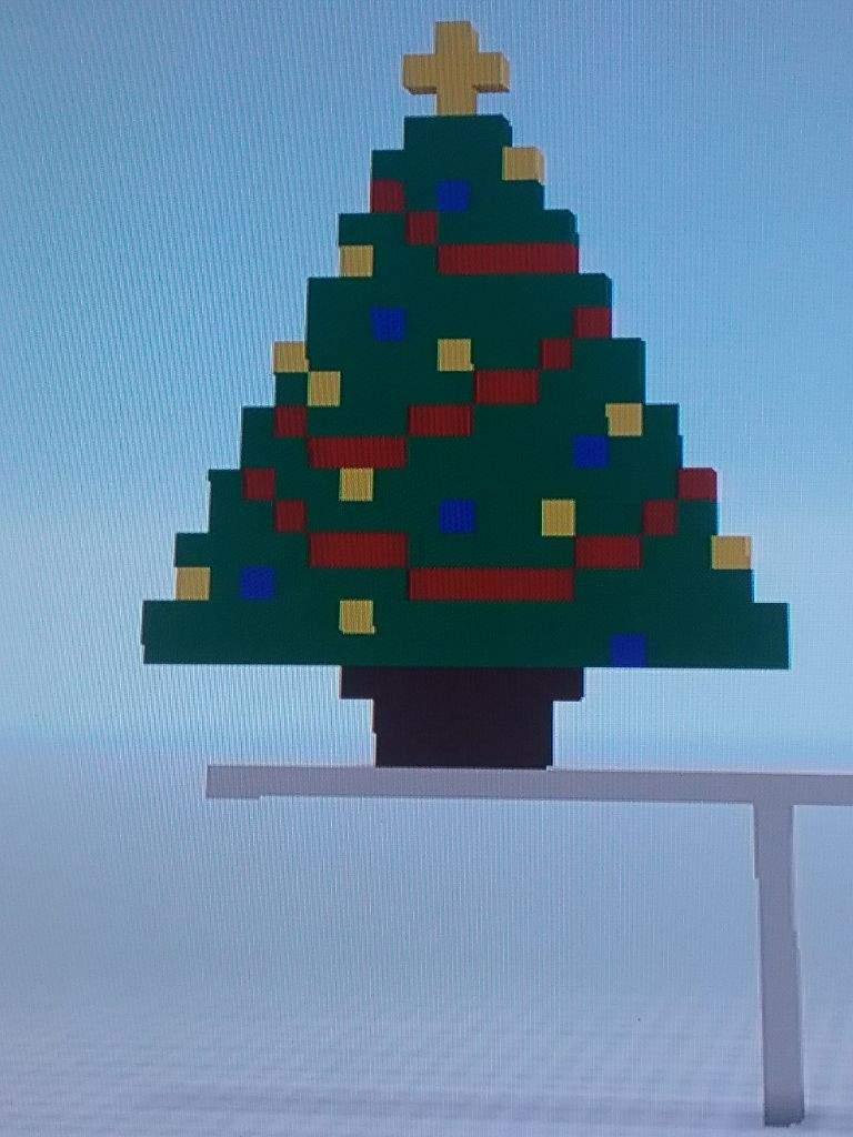 Minecraft Christmas Tree.Christmas Tree Pixel Art Minecraft Amino
