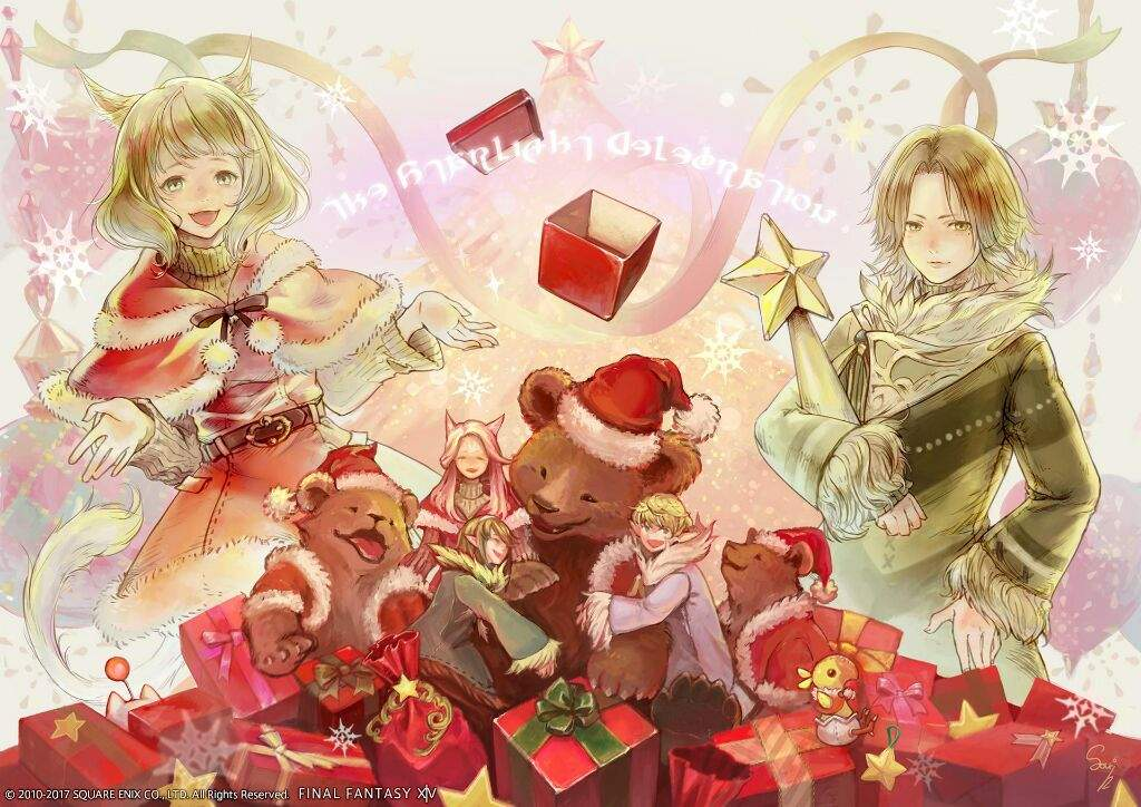 Final Fantasy Christmas.The Seven Days Of Christmas Final Fantasy Xiv Amino Amino