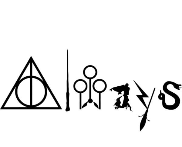How To Draw The Harry Potter Logo