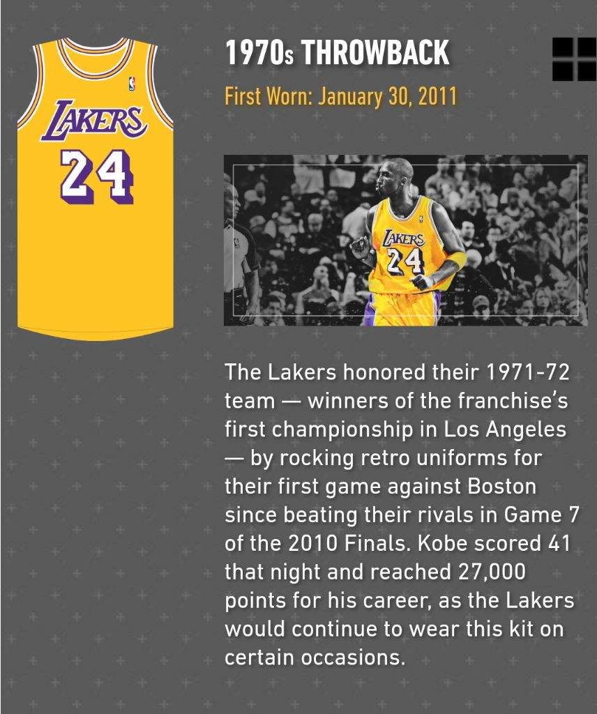 info for 9a022 68fea The Many Jersey's Of The Mamba! | LAKERSW🌎RLD Amino