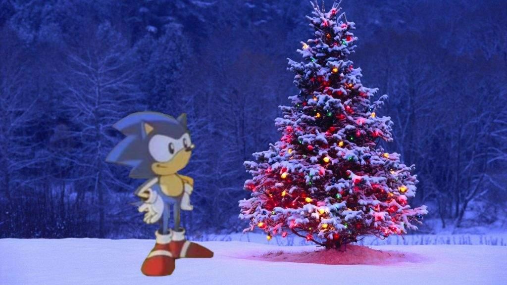 day 7 christmas tree sonic the hedgehog amino - Sonic Hours Christmas Day