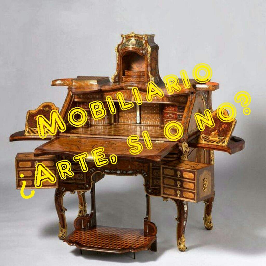 El mobiliario es arte historia del arte amino for Caracteristicas del mobiliario