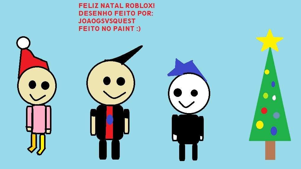 Feliz Natal Desenho Roblox Roblox Brasil Official Amino