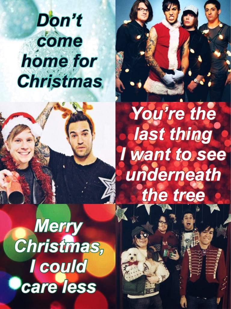 merry christmas i could care less youngblood fall out boy amino - Fall Out Boy Christmas
