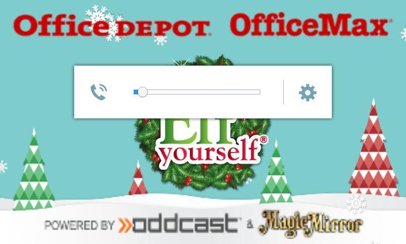 Merry Christmas ima going to make videos of elf yourself