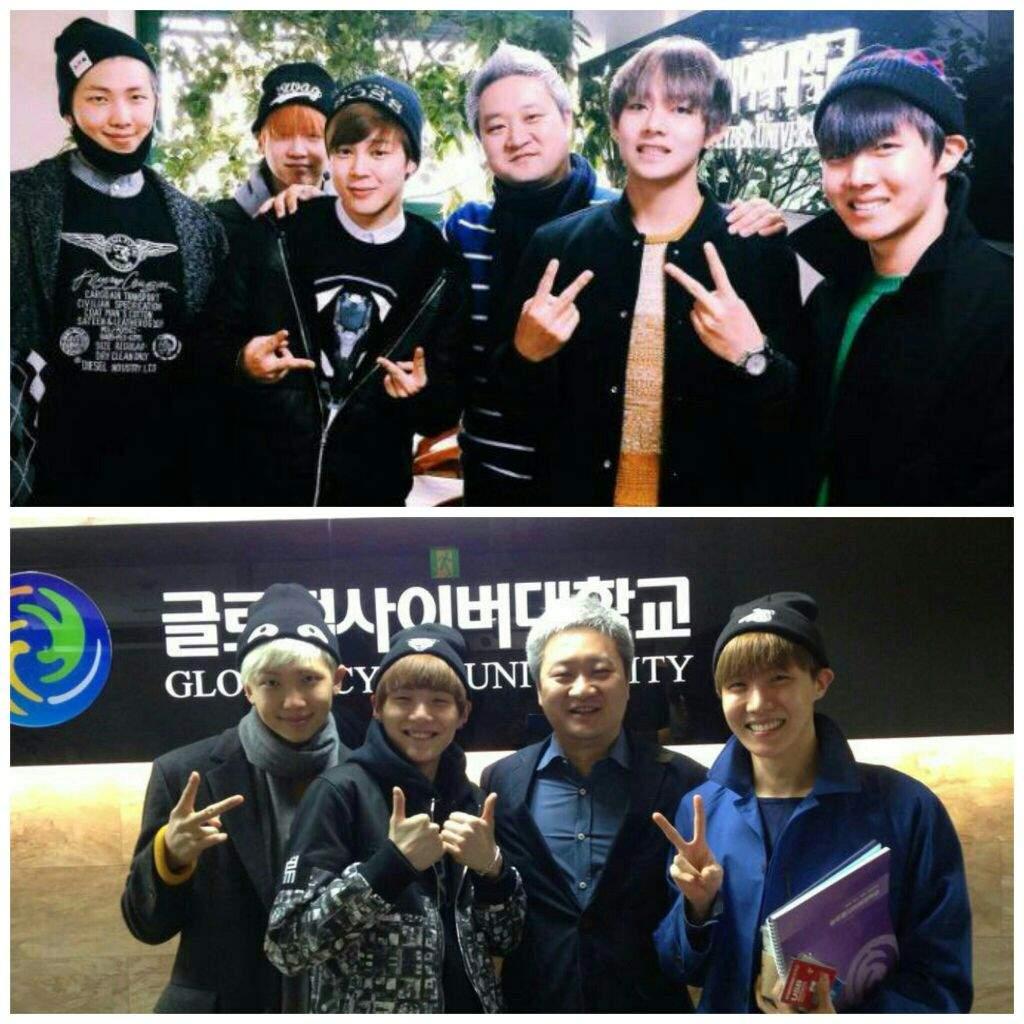 Global Cyber University Korea: Are The BTS Members Attending University?