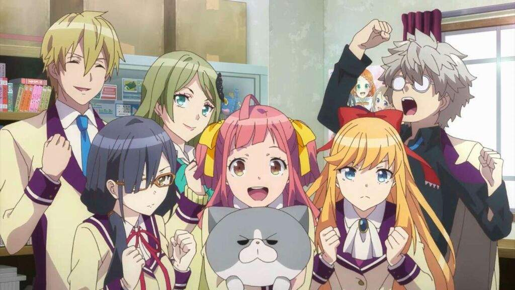 Ever Wondered What An Anime Based On Nothing But Cameos And References Might Be Like Watch Animegataris If Your Not Into These Type Of Animes Then