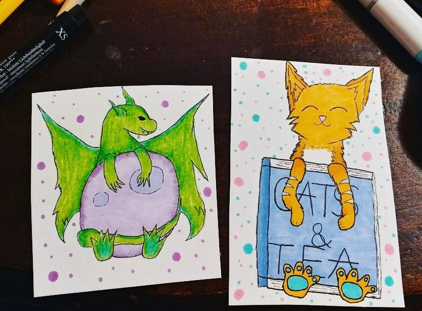 Cute Christmas Cards!   Doodles And Drawings Amino