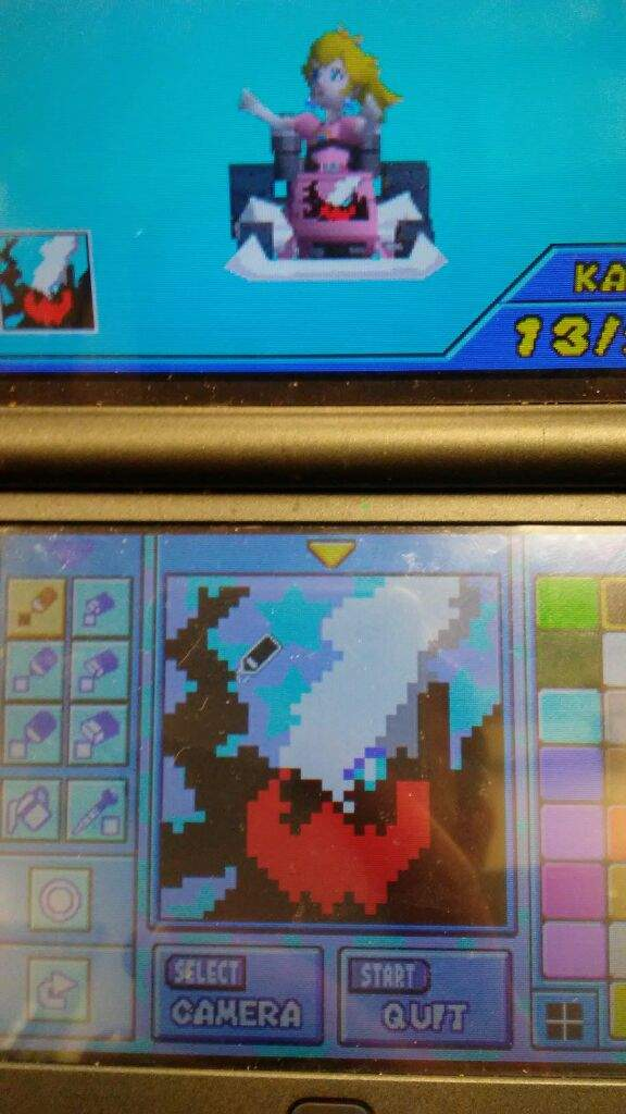 I Made Darkrai For My Mario Kart Ds Emblem Xd Pokemon Amino